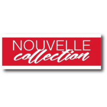 "Affiche ""NOUVELLE COLLECTION"" XXL .  L280 H100 cm"