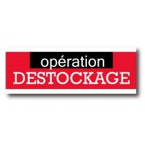 "Affiche ""OPERATION DESTOCKAGE"" XXL L280 H102 cm"