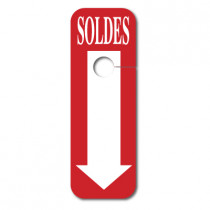 "5 cartons ""SOLDES"""