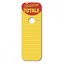 "5 cartons ""LIQUIDATION TOTALE"""