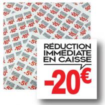 Planche de 48 stickers 35x35 mm -20€