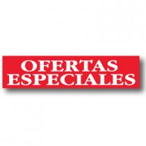 Cartel OFERTAS ESPECIALES, 82 x 20 cm