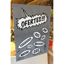 Cartel OFERTES, 60 x 80 cm
