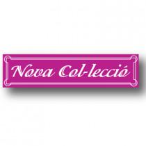 Cartel NOVA COL.LECCIO, 82 x 20 cm