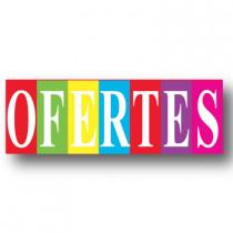 Cartel OFERTES, 82 x 30 cm