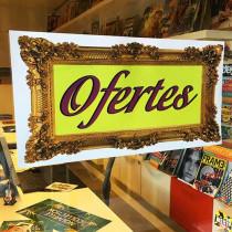 Cartel OFERTES, 58 x 29 cm