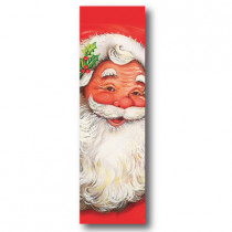 Cartel SANTA CLAUS, 58 x 29 cm