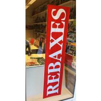 Cartel REBAXES, L168 H40 cm
