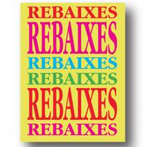 Cartel REBAIXES, 60 x 80 cm