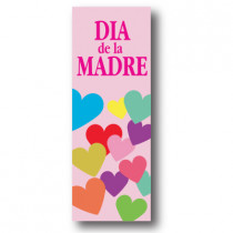 Cartel DIA DE LA MADRE, 30 x 86 cm