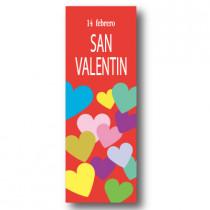 Cartel SAN VALANTIN, 30 x 86 cm