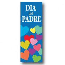 Cartel DIA DEL PADRE, 30 x 86 cm