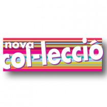Cartel NOVA COL.LECCIO, 82 x 30 cm
