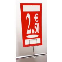 Panneau polypro 2,5€ L19 H38 cm
