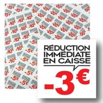 Planche de 48 stickers 35x35 mm -3€