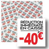 Planche de 48 stickers 35x35 mm -40€