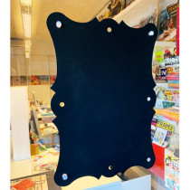 PVC effaçable 56x41 cm avec 4 ventouses