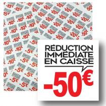 Planche de 48 stickers 35x35 mm -50€