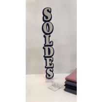 """Carton """"SOLDES"""" L8 H50 cm"""