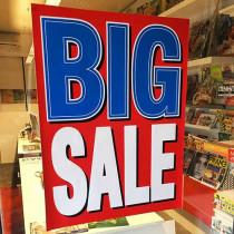 "Poster ""BIG SALE"" L60 H80cm."