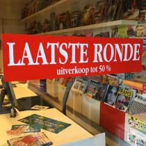 Poster LAATSTE RONDE L82  H20 cm.