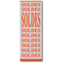 """Affiche """"SOLDES"""" L60 H165 cm"""