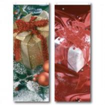 """Affiche M1 """"cadeaux"""" L58 H156 cm, 2 en 1 recto verso"""
