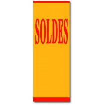 """Affiche """"SOLDES"""" L60 H168 cm"""