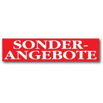 "Plakat ""SONDER ANGEBOTE"" 170 X 40 CM"