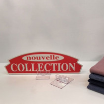 "Carton ""nouvelle COLLECTION"" L36 H11 cm"