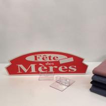 """Carton """"Fête des Mères"""" L36 H11 cm"""