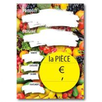 Paquet de 10 étiquettes carton La Piece L150 H210 mm