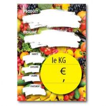 Paquet de 10 étiquettes carton Le KG  L150 H210 mm