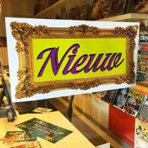 Poster NIEUW , 58 x 29 cm