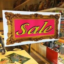 Poster SALE, 58 x 29 cm
