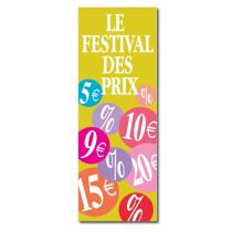 """Affiche """"LE FESTIVAL DES PRIX"""" L42  H115 cm"""