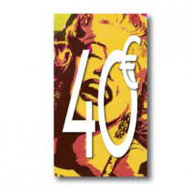 Panneau PVC 40€, 20x35cm