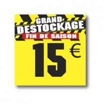 Panneau PVC 15€, 25x25cm