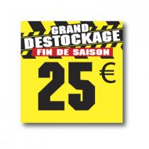 Panneau PVC 25€, 25x25cm