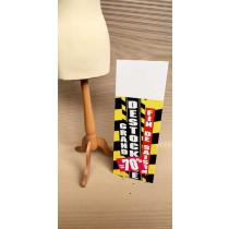 Panneau rigide GRAND DESTOCKAGE-70%  L30 H80 cm avec chevalet arriere