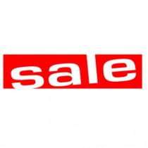 "Poster ""sale"" 115 X 30 CM"