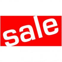"Poster ""sale"" 60 X 30 CM"
