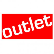 "Poster ""outlet"" 60 X 30 CM"