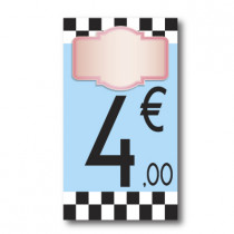 Panneau PVC 4€, 20x35cm