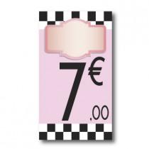 Panneau PVC 7€, 20x35cm