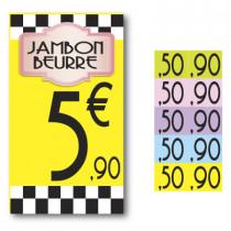 5 stickers de complément