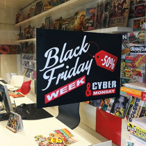 "Affiche ""BLACK FRIDAY"" L50 H35 cm"