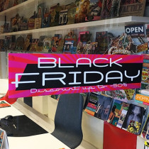 "Affiche ""BLACK FRIDAY"" L60 H15 cm"