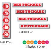 KIT de 5 affiches et 315 stickers