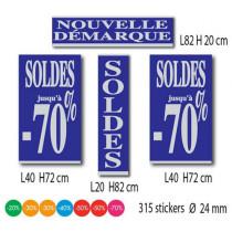 Kit de 4 affiches + 315 stickers